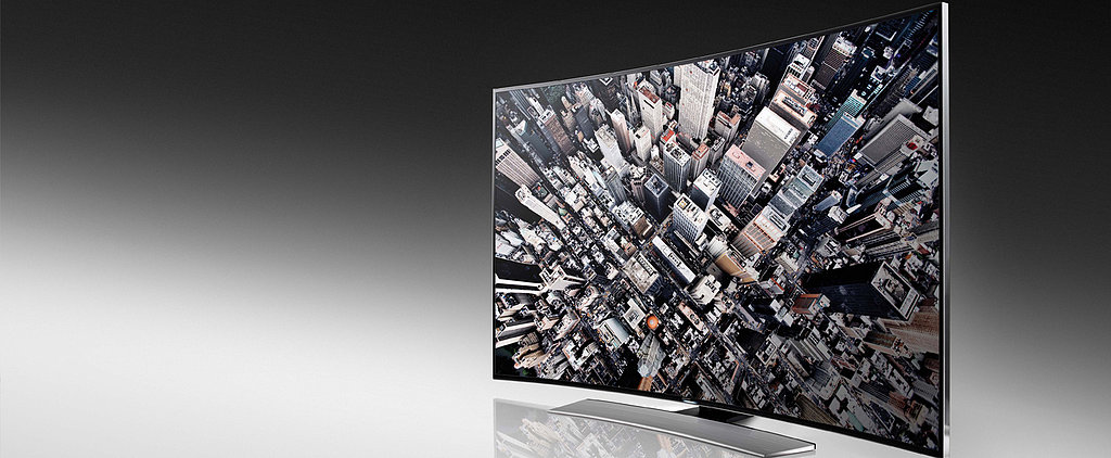 Samsung Moves Past Flat Screens For Serious Curves