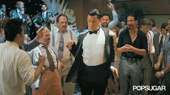 Best Dance Moves: Leonardo DiCaprio in The Wolf of Wall Street Trailer