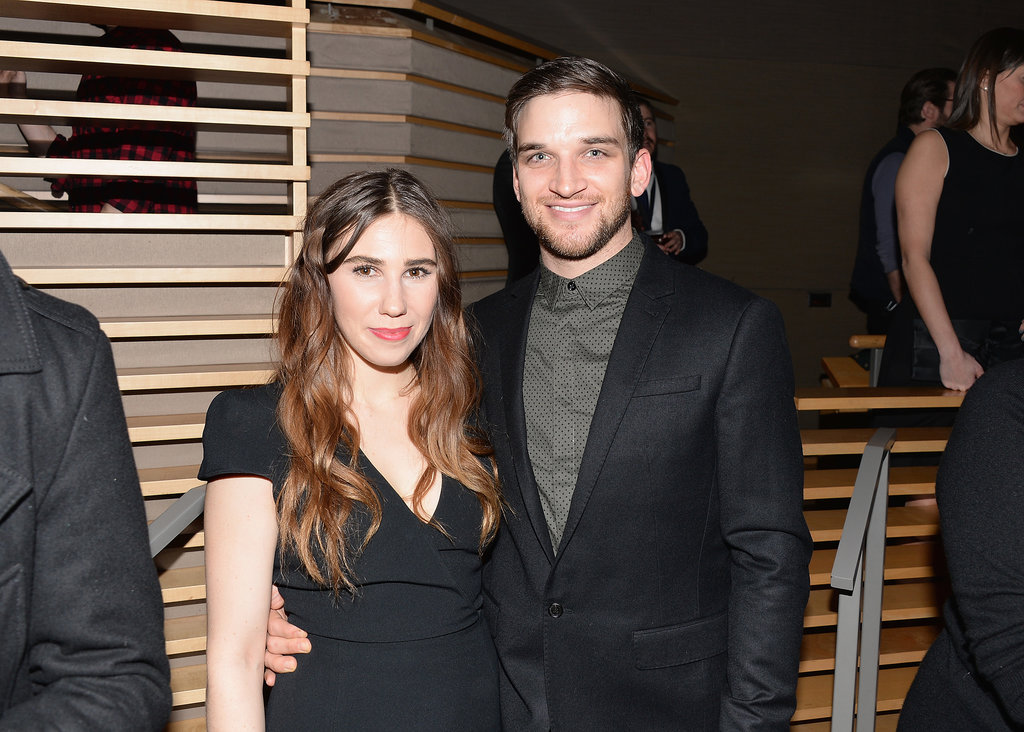 Zosia and her boyfriend, Evan Jonigkeit, posed at the afterparty.