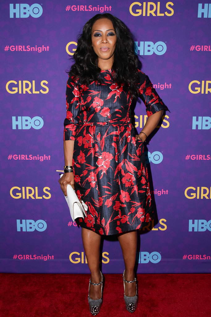 June Ambrose at the Girls premiere.