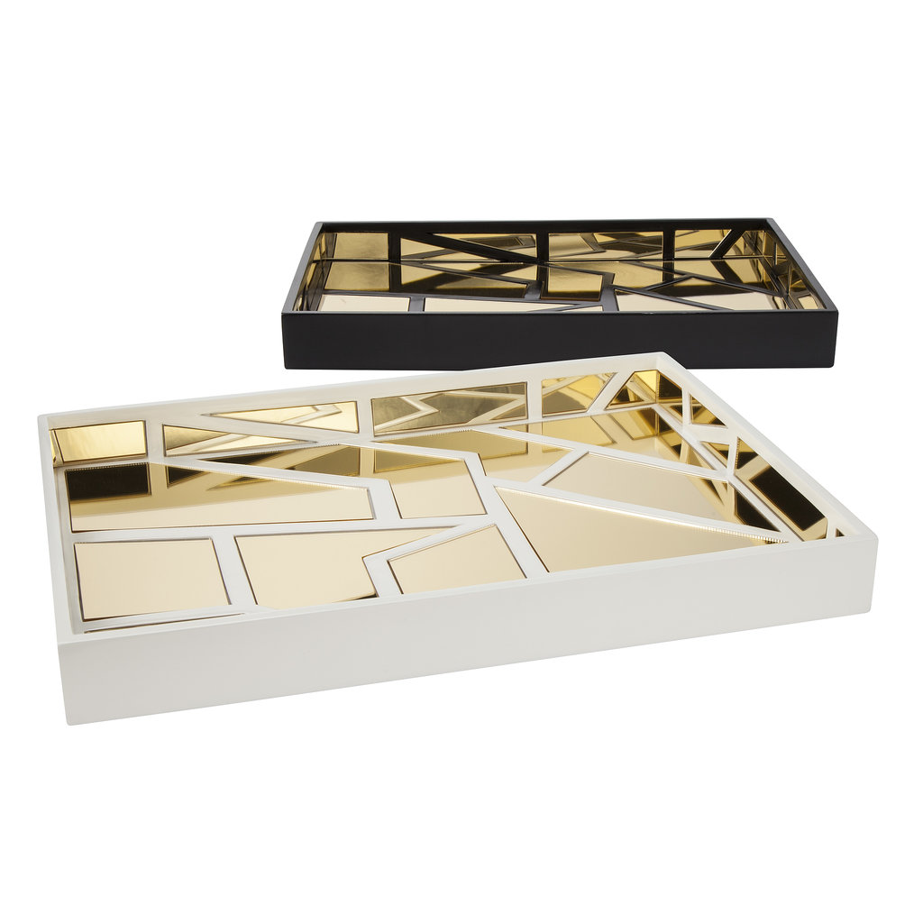 Gold Mirrored Trays ($35 each)