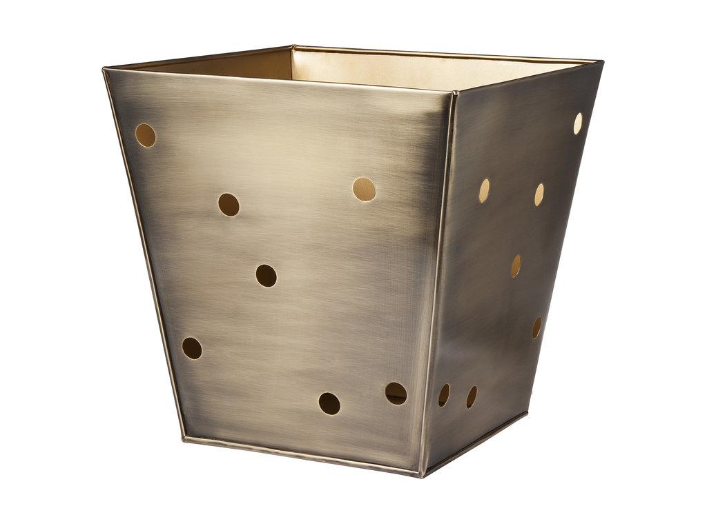 Metal Decorative Storage Bin $40