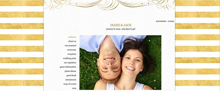 Creating a Stunning Wedding Site Is Easier Than You Think
