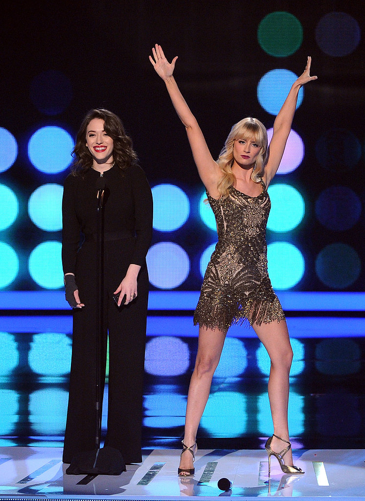"""Beth Behrs dropped the mic after twerking and rapping to """"Baby Got Back."""""""