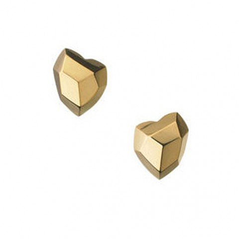 London Earrings Flutter Wow 18ct Gold Stud