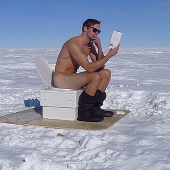 Alexander Skarsgard Nude at the South Pole | Photo