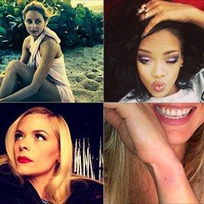 Celebrity Beauty Instagrams | Jan. 8, 2014