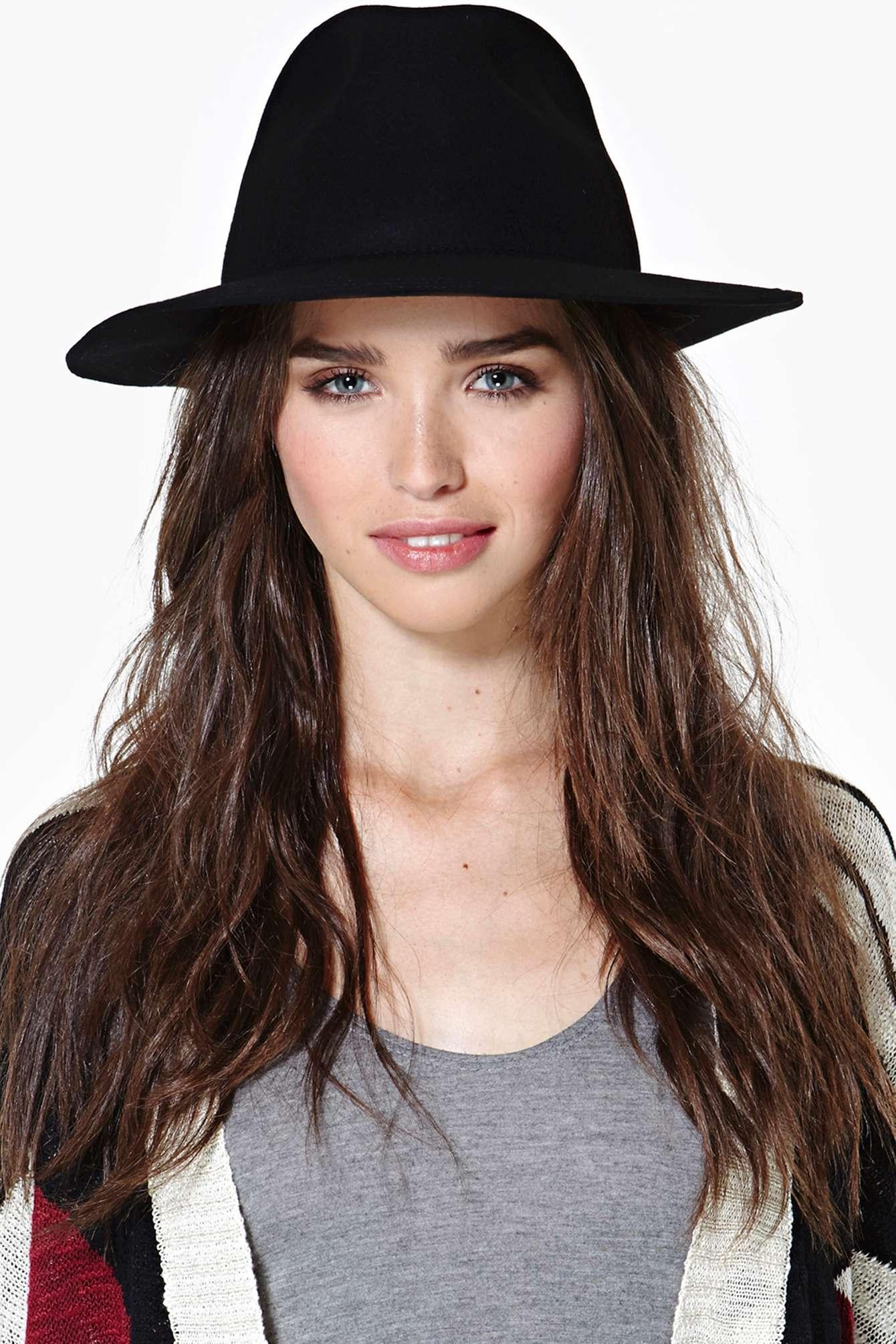 Nasty Gal Wool Hat