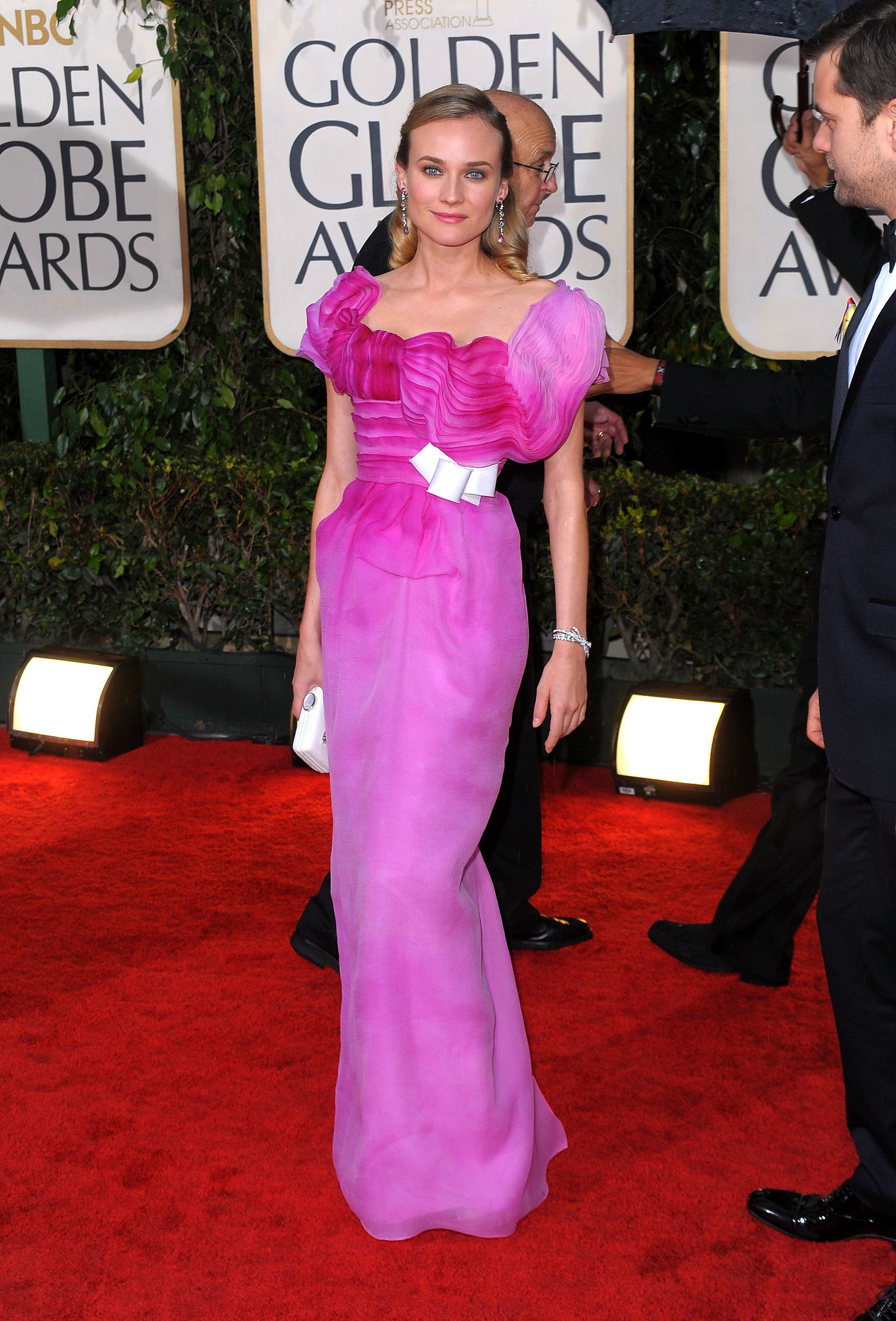 Diane Kruger in Christian Lacroix in 2010.