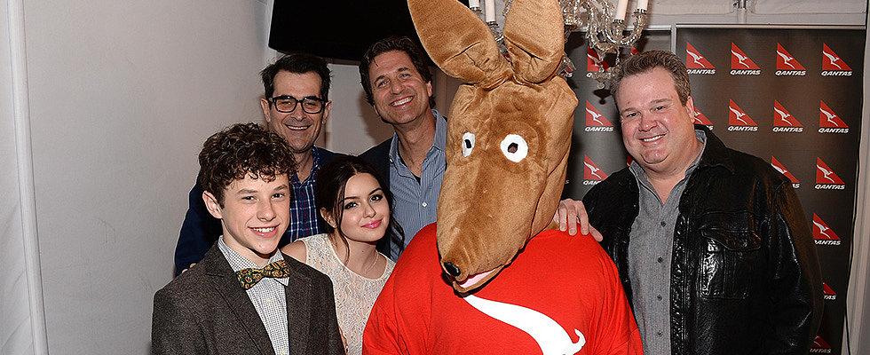Modern Family Stars Get a Taste of the Spirit of Australia