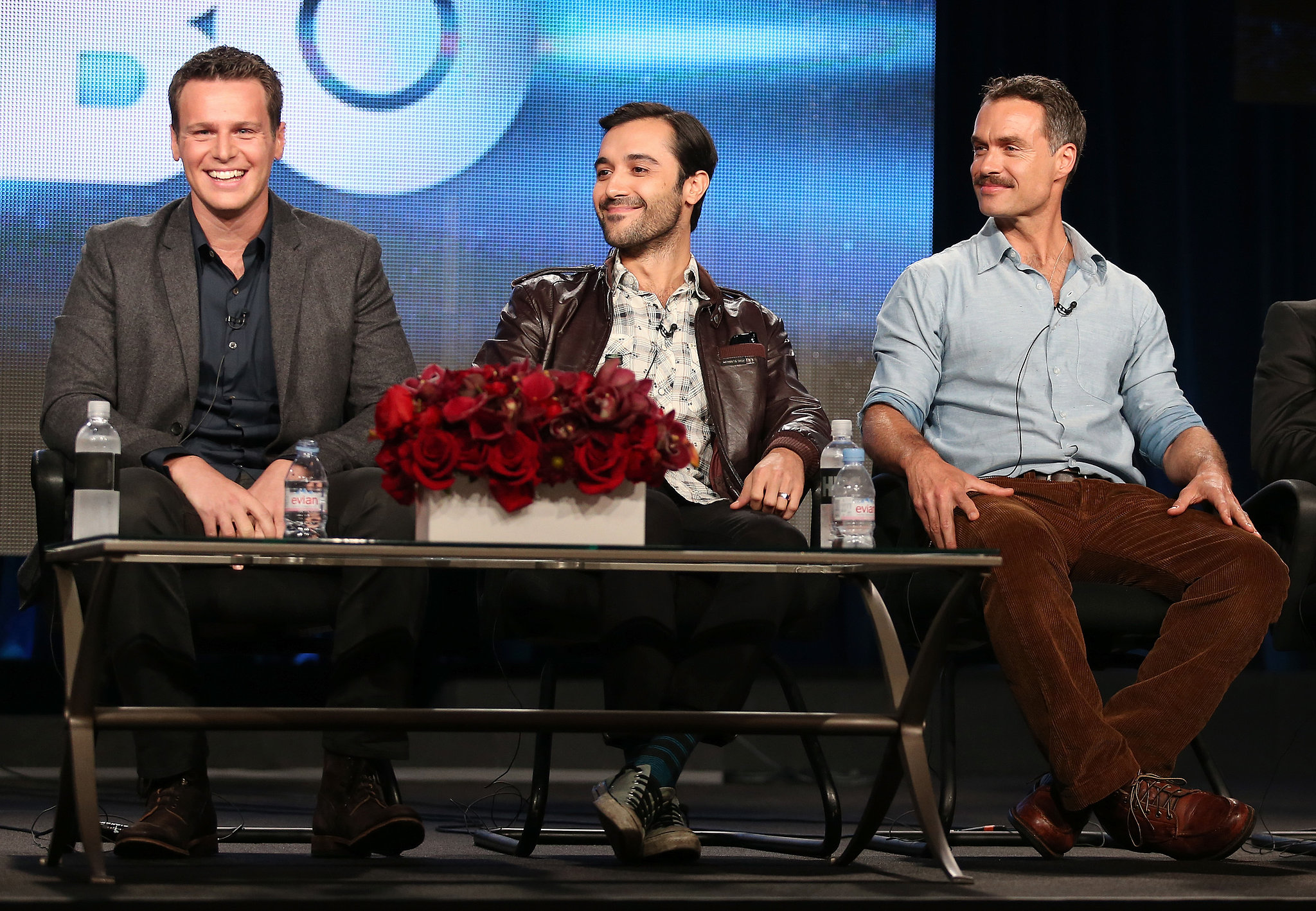 Jonathan Groff sat down with his costars from HBO's new show Looking.