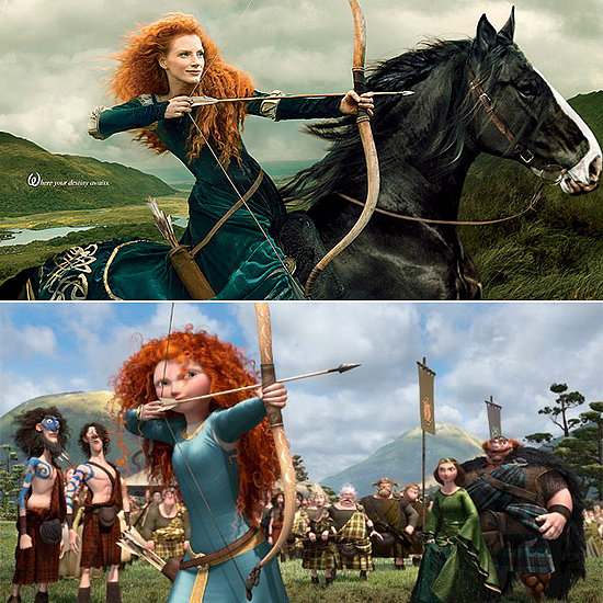 Jessica Chastain Becomes a Disney Princess
