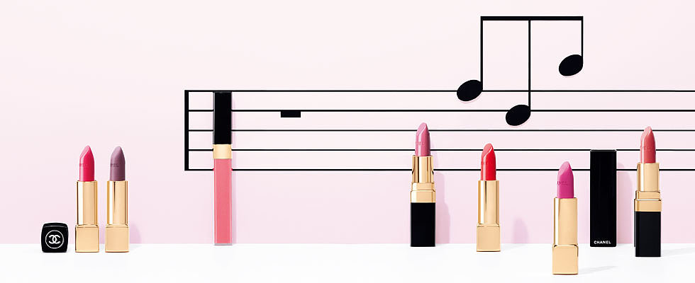 Chanel Notes De Printemps Spring Makeup Collection