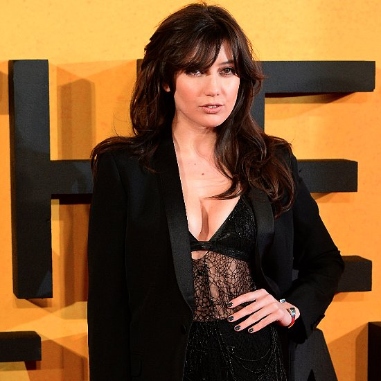 Daisy Lowe's Lace Dress at the Wolf of Wall Street Premiere
