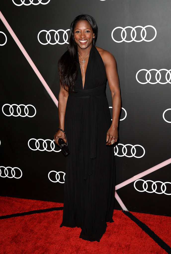 True Blood's Rutina Wesley looked glam.