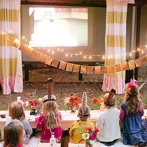 Backyard Movie Party For Kids