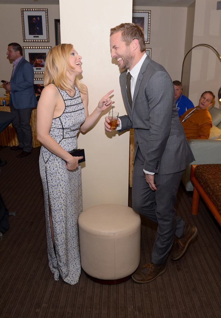 On Thursday, Kristen Bell and Ryan Hansen shared a laugh at Variety's Breakthrough of the Year Awards.