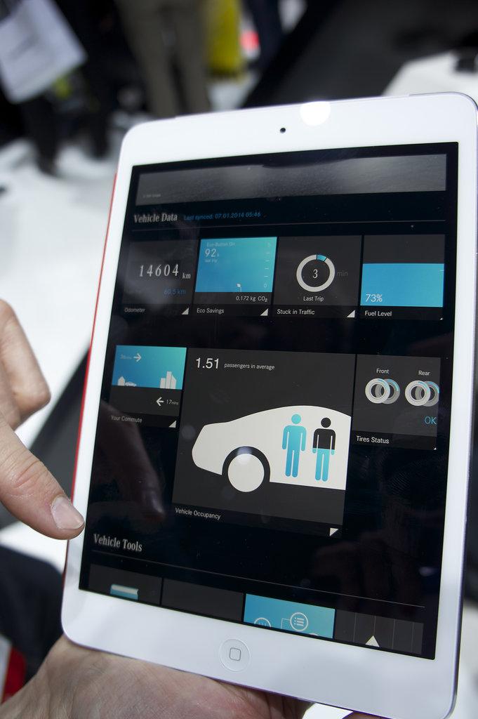 Mercedes-Benz — App Connectivity