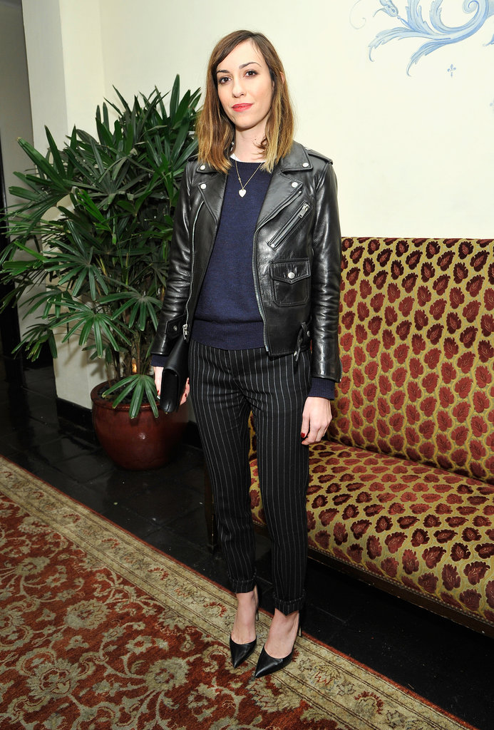 Gia Coppola at W magazine's Golden Globes party.