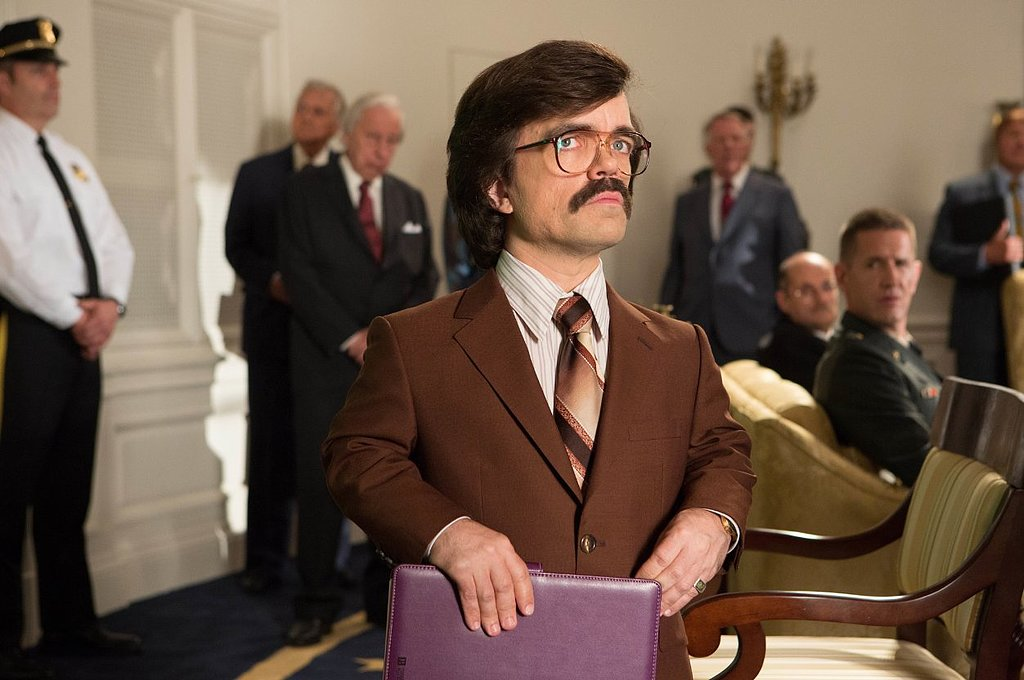 Peter Dinklage shows up as Bolivar Trask.