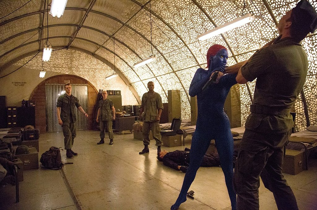 Mystique (Jennifer Lawrence) is not to be trifled with.
