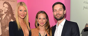 Gwyneth Paltrow Gets in on the Golden Globes Weekend Action