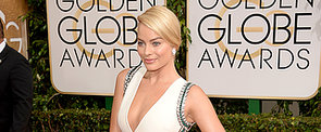 Margot Robbie Makes Her First Golden Globes Appearance
