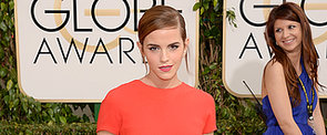 Emma Watson Leaves Her New Man at Home For the Globes