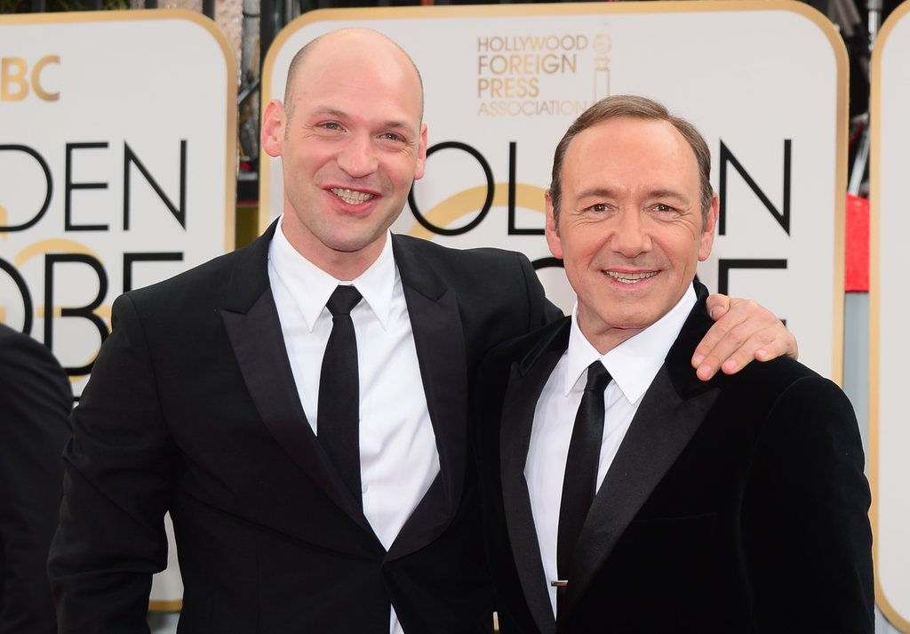 Photo of Corey Stoll & his friend  Kevin Spacey