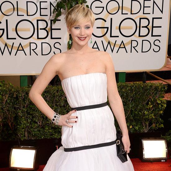 Jennifer Lawrence at the Golden Globe Awards 2014