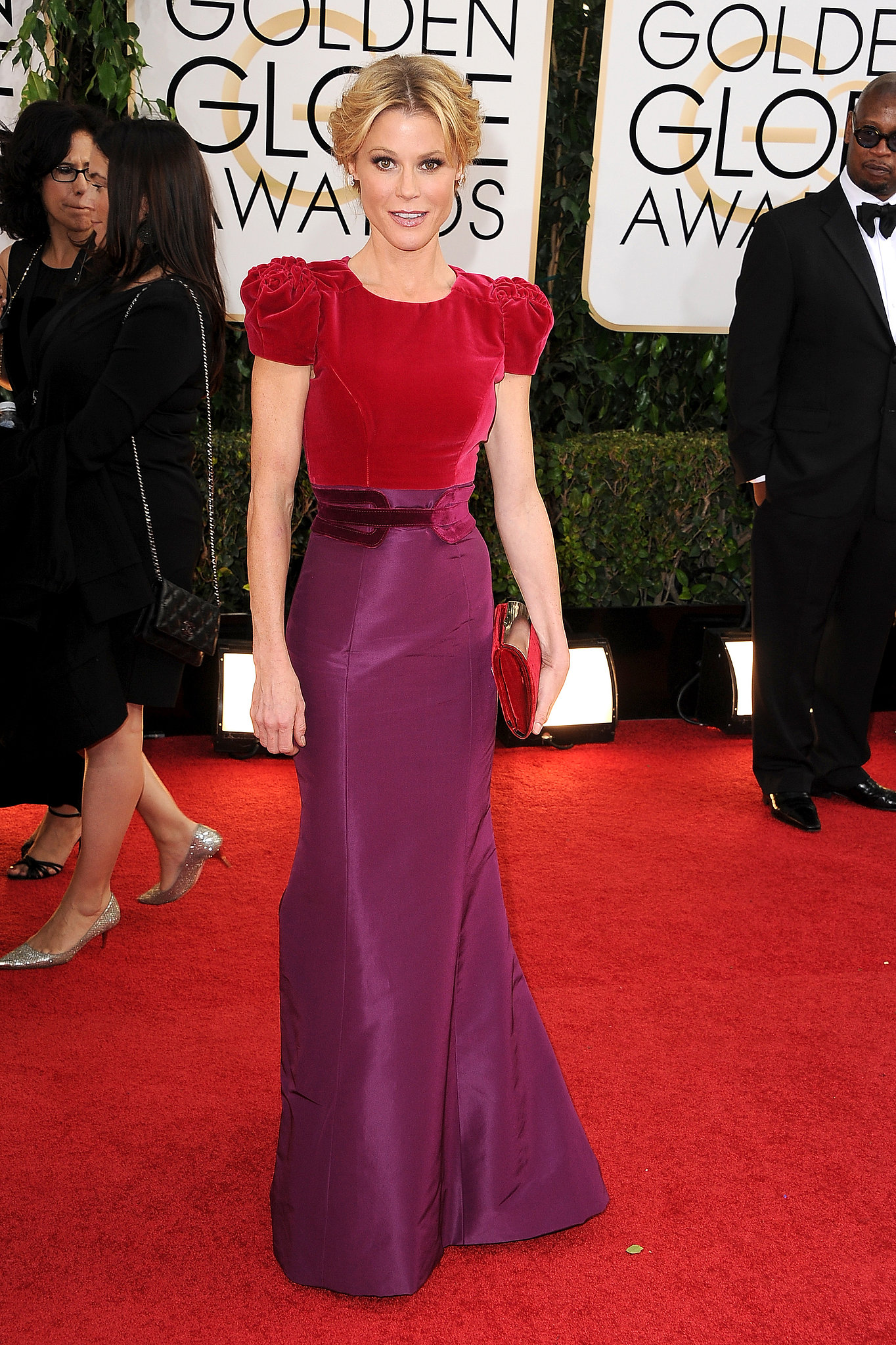 Julie Bowen, of Modern Family-fame, hit the red carpet.