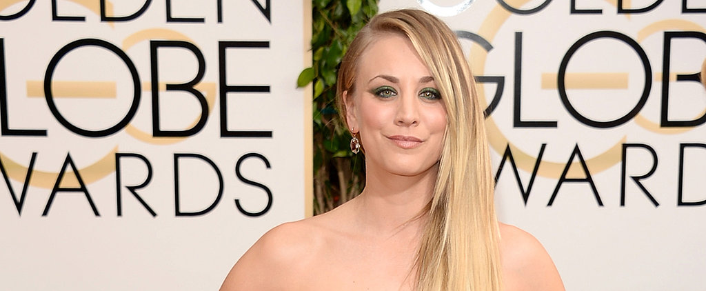 Kaley Cuoco's Makeup Artist Breaks Down Her Emerald Makeup Look