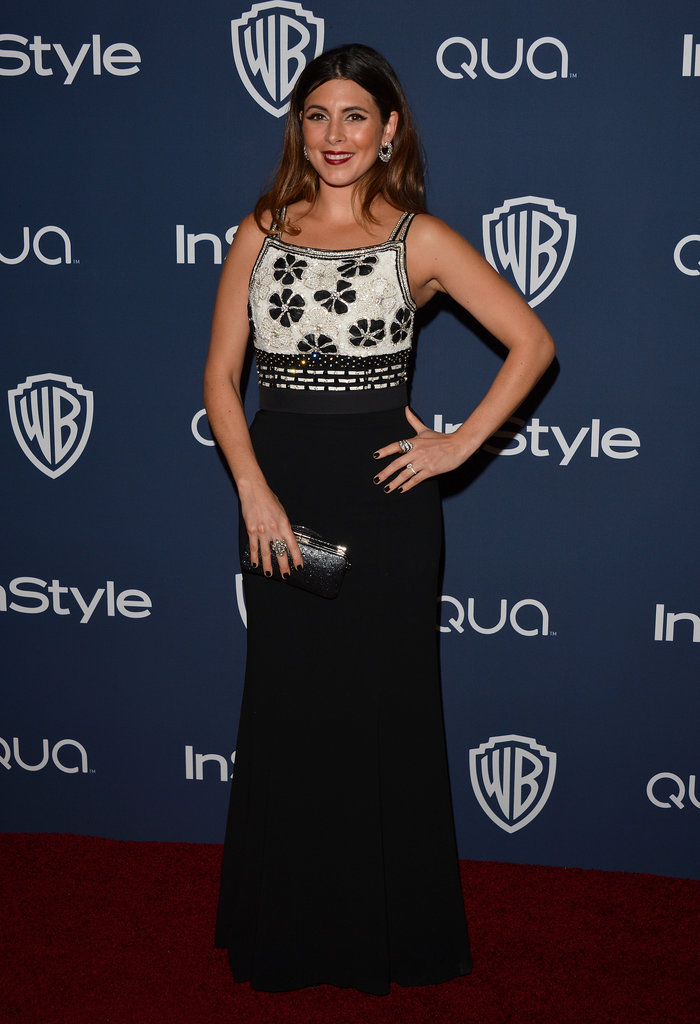 New mom Jamie-Lynn Sigler stepped out for the InStyle bash.