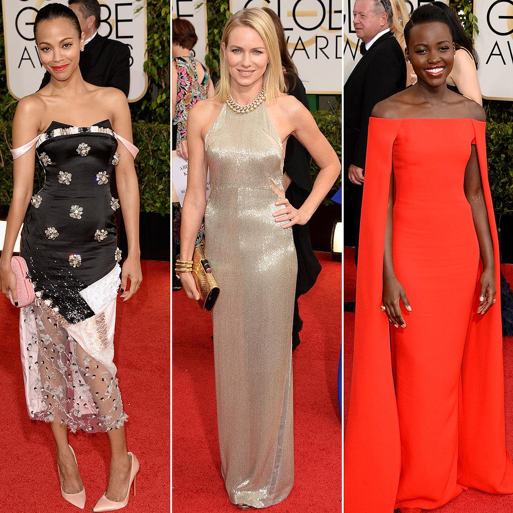 Red Carpet Dresses 2014 Golden Globes 2014 Golden Globes Red