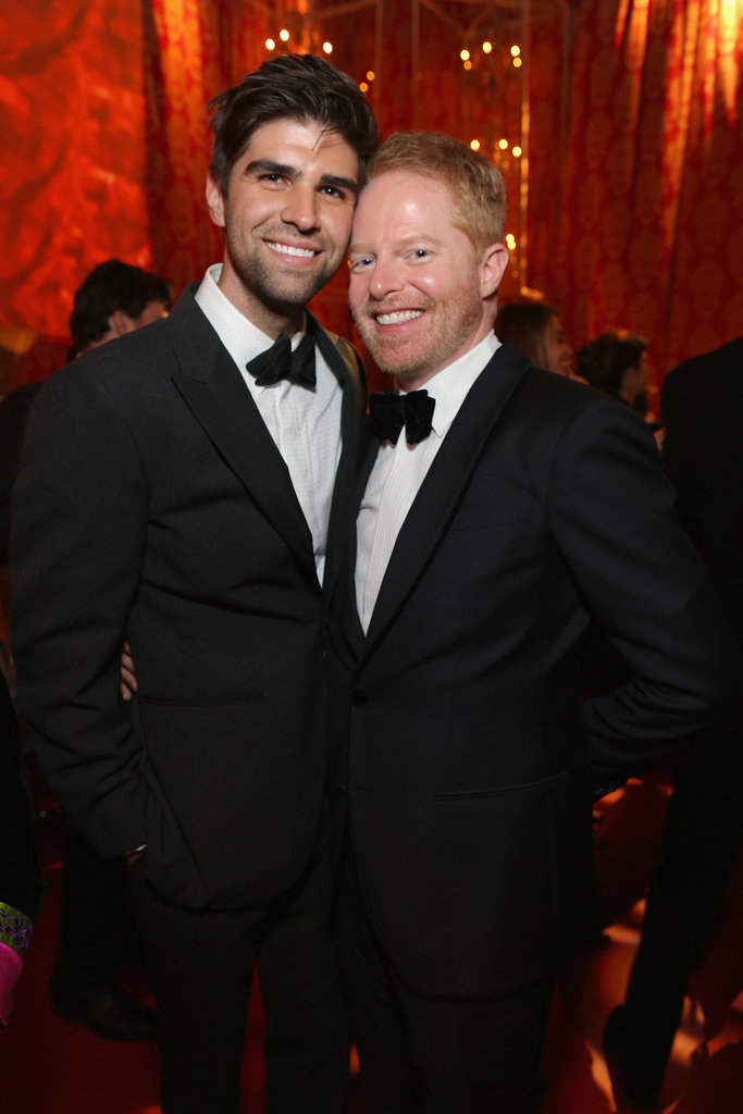 Justin Mikita and Jesse Tyler Ferguson made a handsome pair.