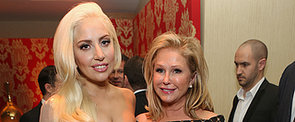 Lady Gaga Joins the Star-Studded HBO Party After the Globes