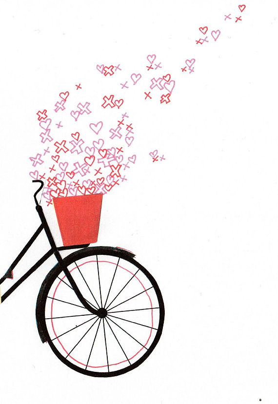 If your little one loves to bike, than hang this vitage-inspired piece ($17) on her wall.
