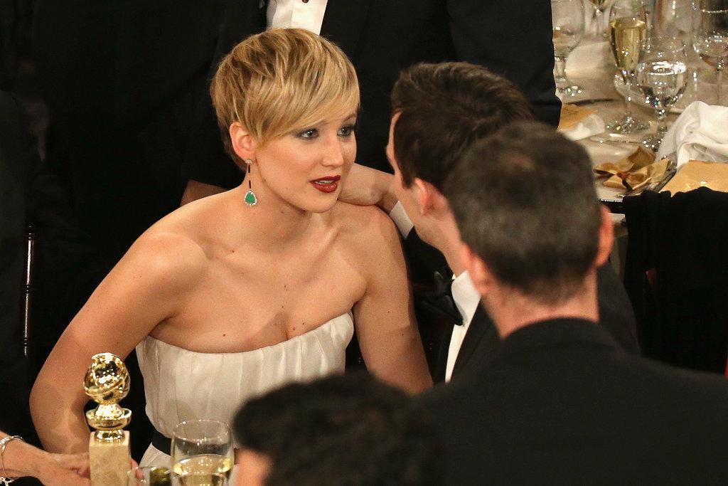 Jennifer Lawrence gaze...