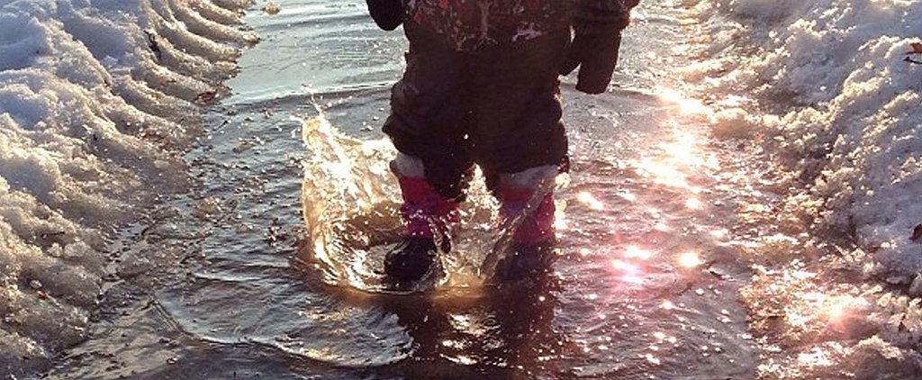 Cool Capture: Winter Splashes