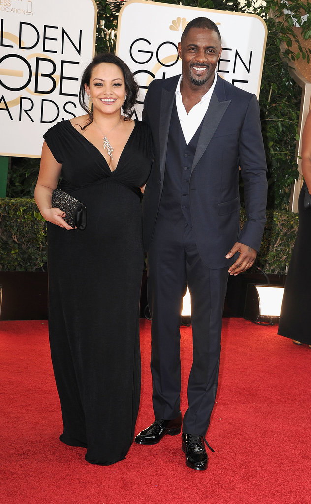4. Idris Elba Arrives at the Golden Globes Looking Like This
