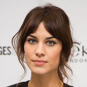 How Does Alexa Chung Keep Her Fringe Not Greasy?