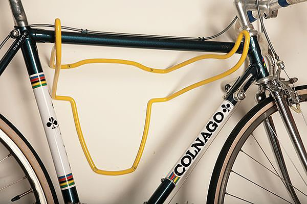 Blur the lines between bicycle storage and wall decor with this bull bike rack ($115).
