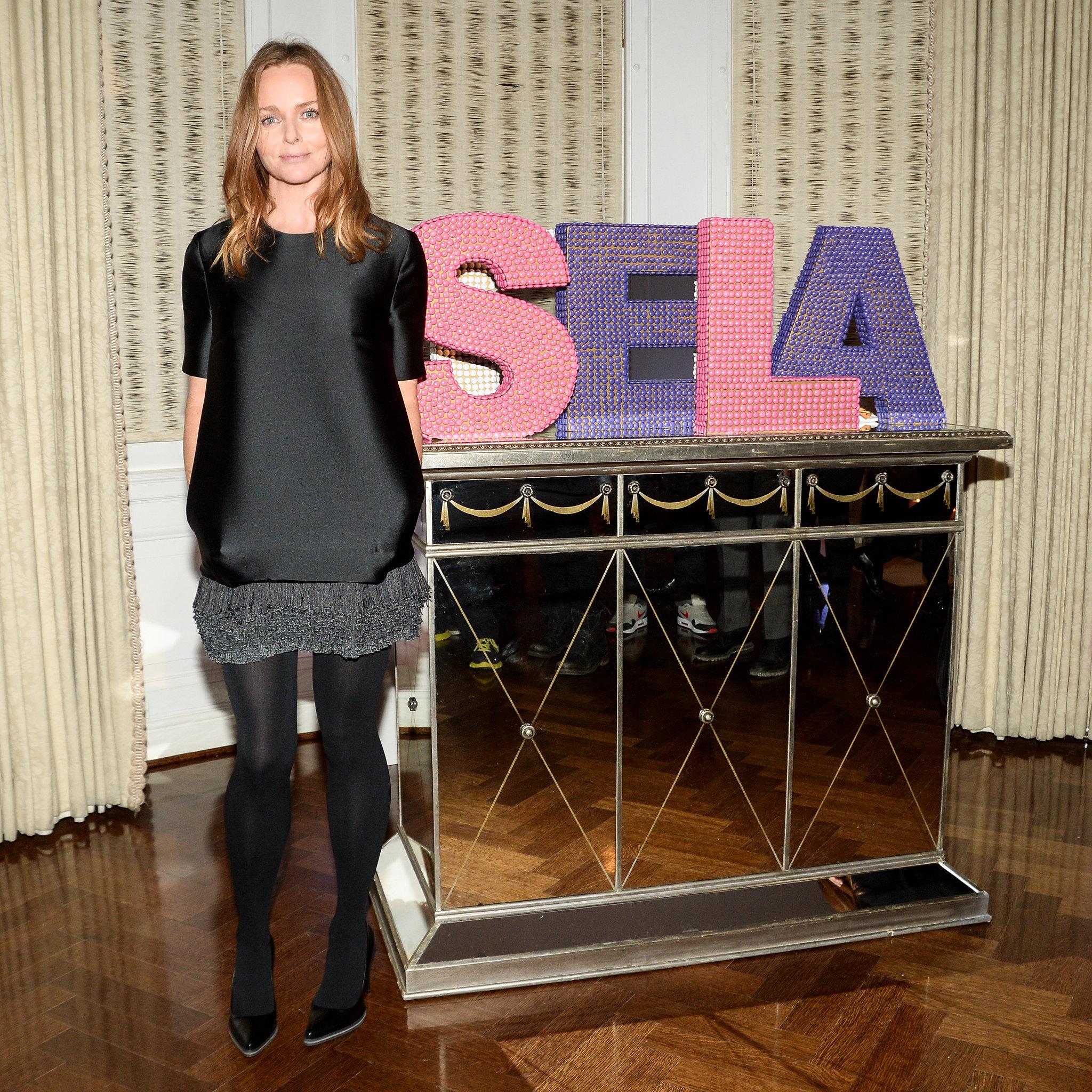Stella McCartney at the Stella McCartney Pre-Fall 2014 presentation.