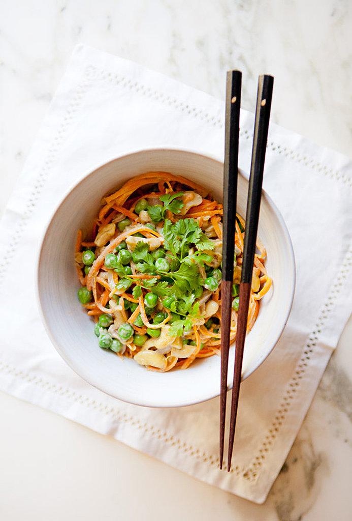 Thai Green Curry Sweet Potato Noodle Bowl
