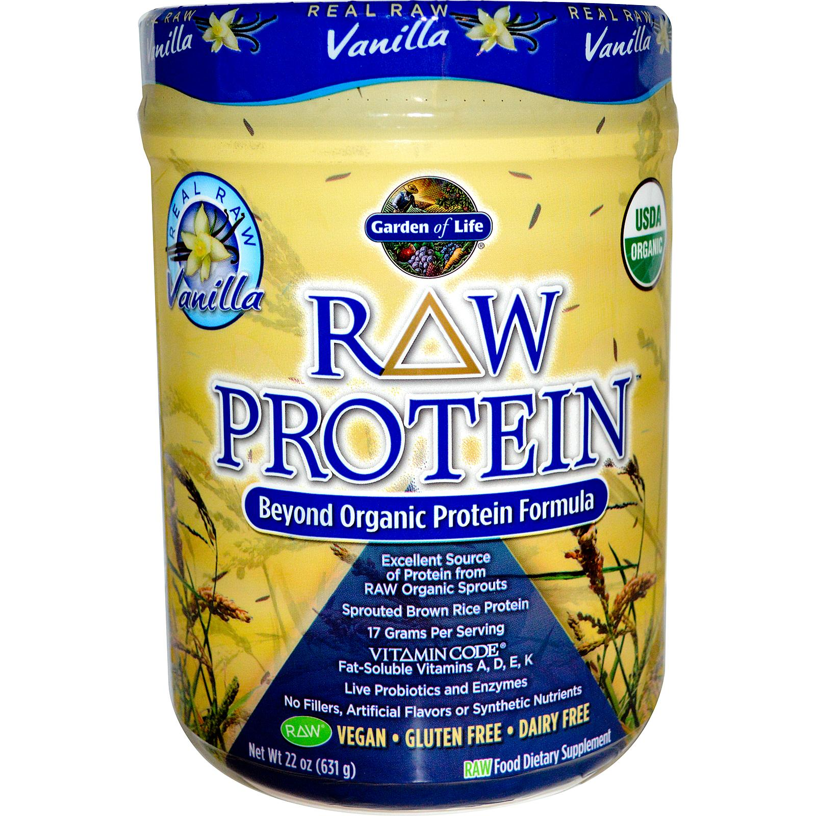 Garden Of Life Raw Protein Vanilla The Best Plant Based Protein Powders Popsugar Fitness