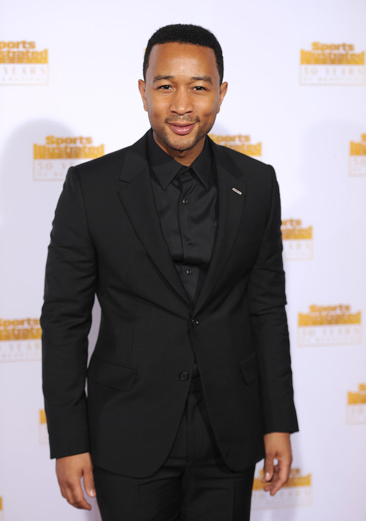 John Legend was there to support his wife Chrissy Teigen.