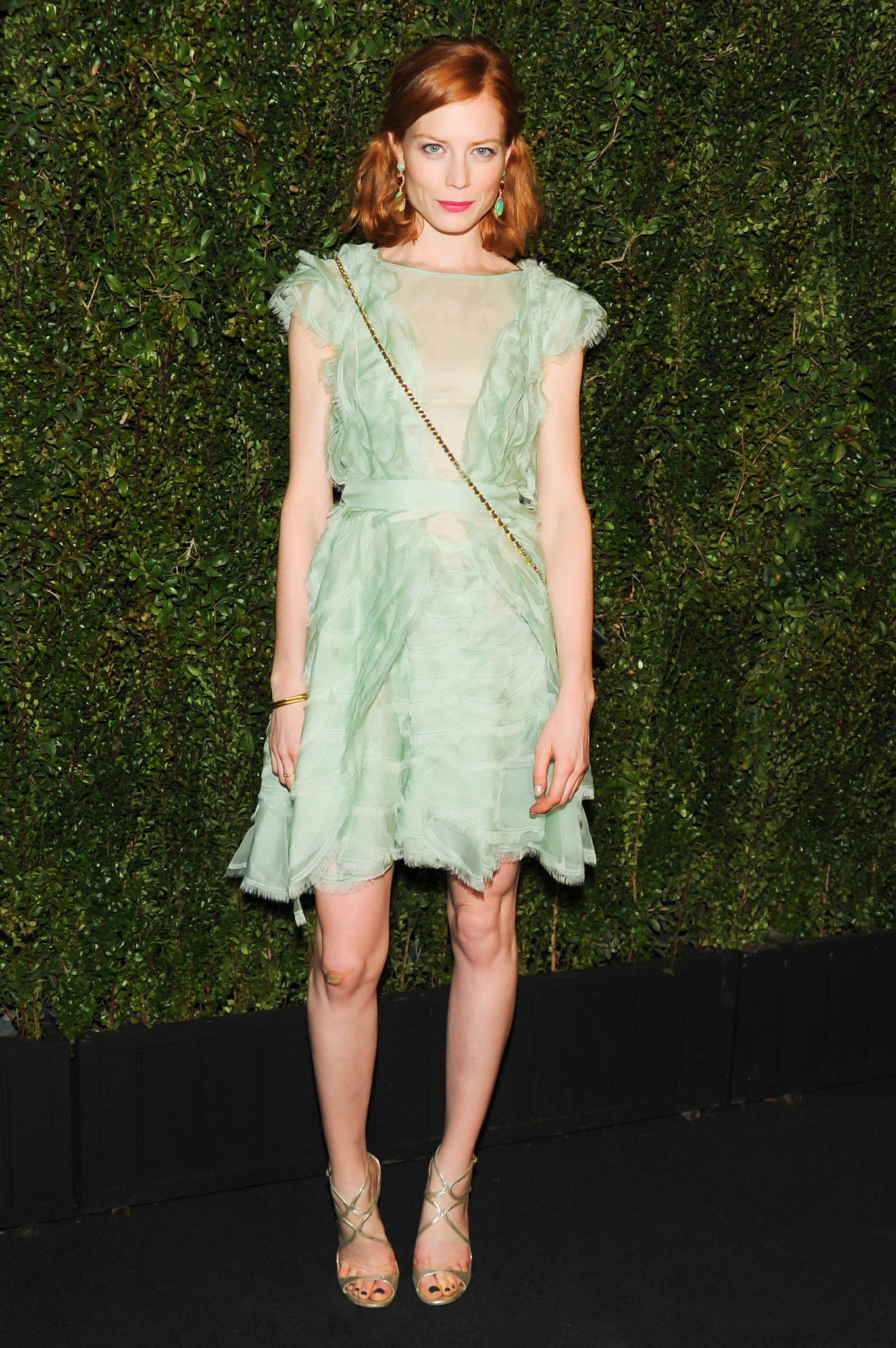Jessica Joffe at Chanel's private dinner honoring Drew Barrymore's Find It in Everything.