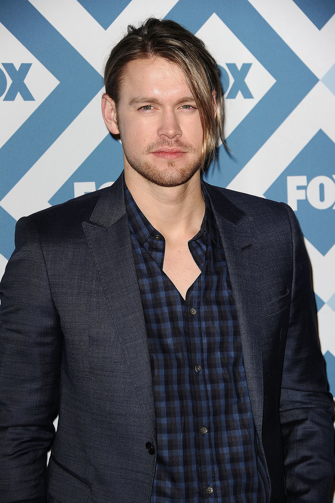 Glee's Chord Overstreet rocked a bit of stubble.