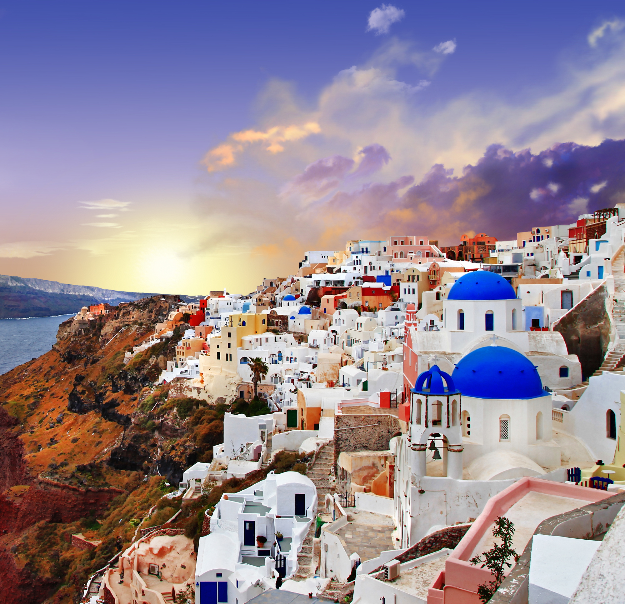 Santorini, Greece  83 Unreal Places You Thought Only ...