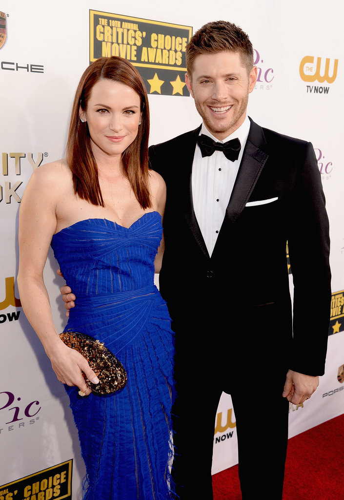 Danneel and Jensen Ackles attended the Critics' Choice Awards.